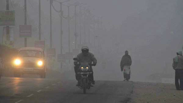 Foggy Weather In Coastal Districts: Thunderstorms Rains At Several Areas