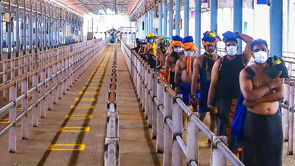 Sabarimala: Pilgrims Visits Dips To 9000 From Last Seasons 3 Lakh