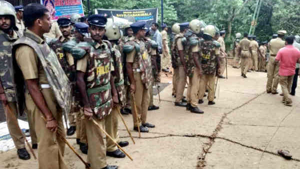 3 Cops Deployed At Sabarimala Tests Covid Positive