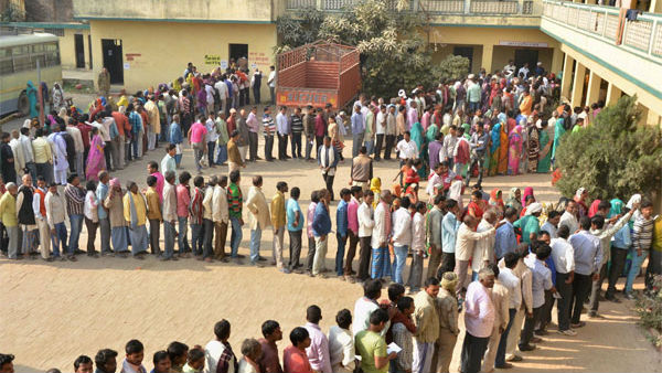 Voting The First Phase Of The Rajasthan Panchayat Samiti, Zila Parishad Elections