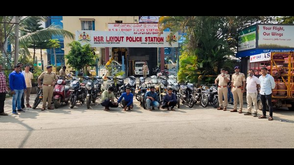 39 Thieves arrest : 169 Bikes recovered by police