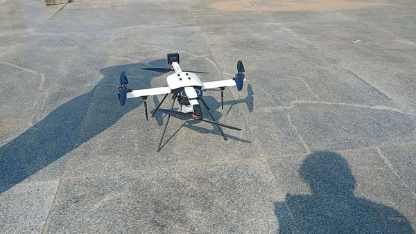 New Year Event: Drone Surveillance On The Tagore Beach In Karwar