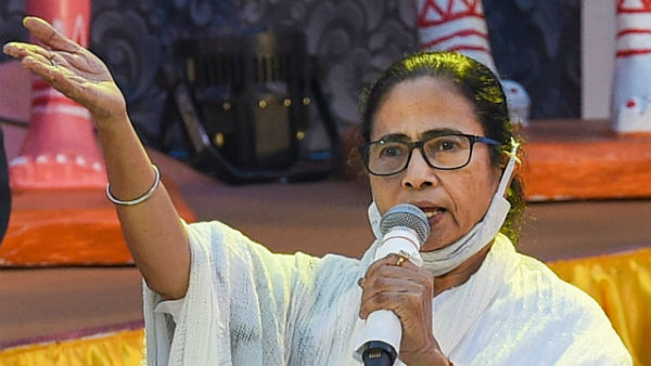 Modi Government Targetting Me Politically Alleges West Bengal CM Mamata Banerjee