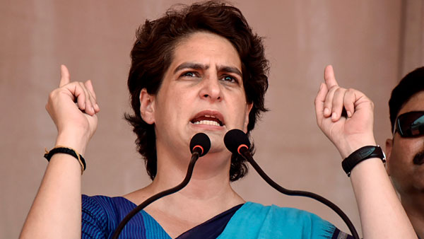 Congress Leader Priyanka gandhi Warned BJP Government Over Farmers Protests