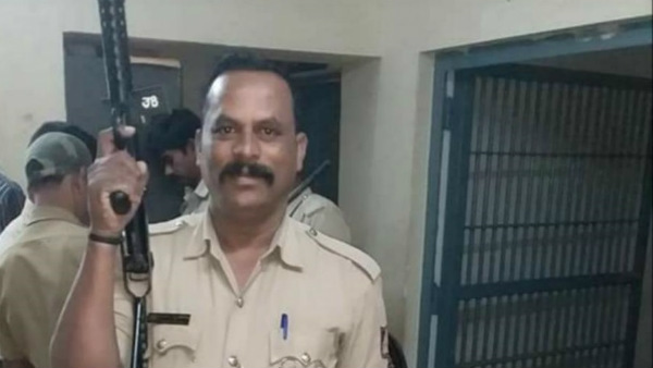 Chikkamagaluru: Head Constable Dies On Spot By Car Bike Accident