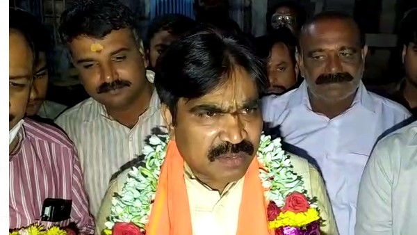 Kolar: Ganesh Temple Visited By New Minister R.Shankar