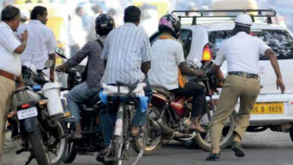 Bengaluru Traffic Police Decided To Give Temporary Halt On Stopping The Vehicle In Road For Recored Checking