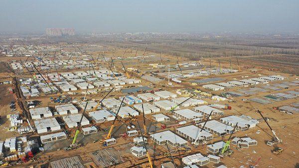 China Builds Massive Quarantine Camp To House More Than 4000 People Amid Covid Outbreak