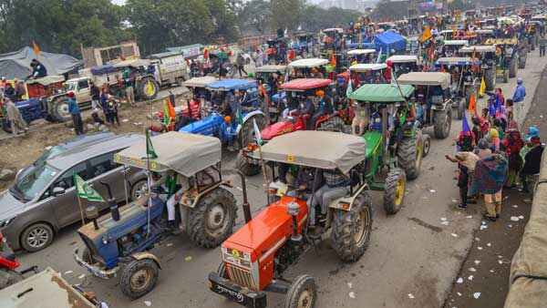 Tractor Rally Against Farm Laws On Republic Day At New Delhi
