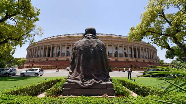Mahatma Gandhi Statue Shifted Hurriedly For New Parliament Building