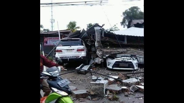 At Least 40 Killed As Earthquake Rocks Indonesia