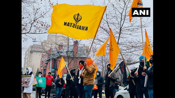 Khalistanis Protest Outside Indian Embassies In Washington DC And Rome Against Farm Laws