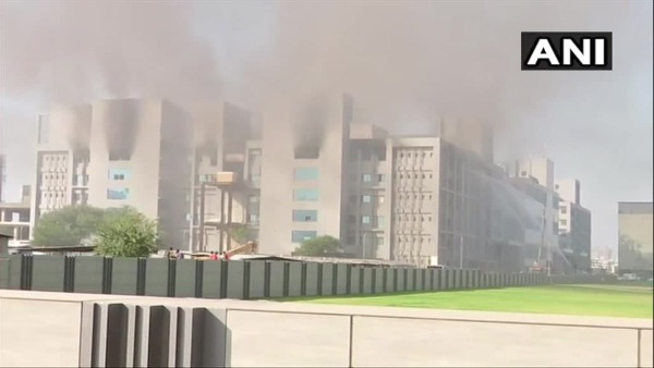 Five People Dies At Fire Accident In Serum Institute Of India At Pune