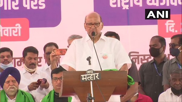 NCP Chief Sharad Pawar Warns To Centre To Take Back Farm Laws In Mumbai Farmers Rally