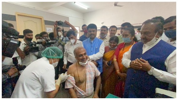 Covid-19 Vaccination Drive Inaugurated In All Districts Of Karnataka