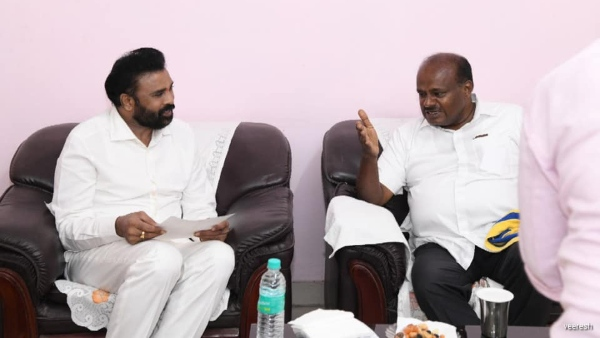 HD Kumaraswamy Suggestion To Minister CP Yogeshwar