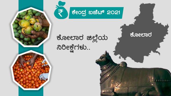 ವಿಶೇಷ ಲೇಖನ; ಕೇಂದ್ರ ಬಜೆಟ್, ಕೋಲಾರ ಜಿಲ್ಲೆಯ ನಿರೀಕ್ಷೆಗಳು
