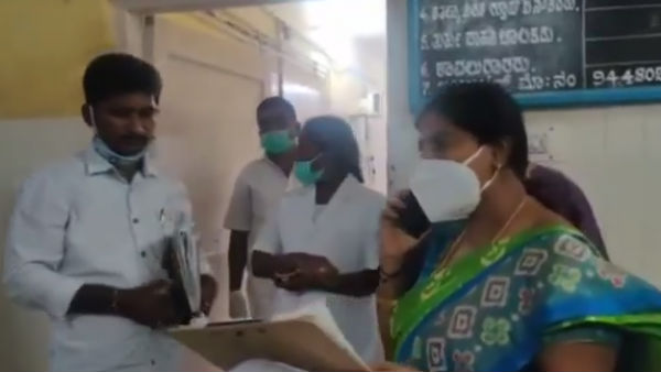 MLA Poornima Srinivas Visit Hiriyuru Govt Hospital For Inspection