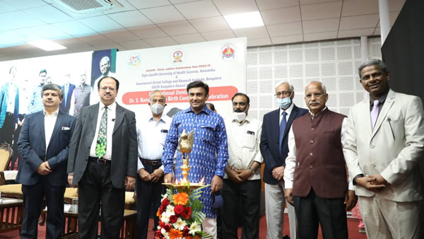 Need to create awareness about oral health: Minister Dr.K.Sudhakar