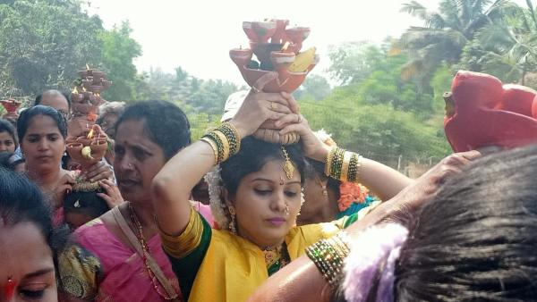 Uttara Kannada Thousands Of Devotees Witnessed For Marke Punav Jatra