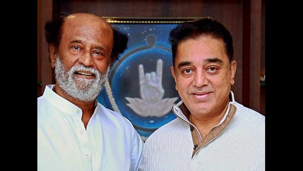 Kamal Haasan Meets Rajinikanth Ahead Of Tamil Nadu Assembly Election