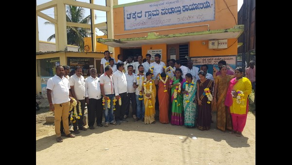 Ramanagara JDS Supported Candidates Elected For Gram Panchayat In CP Yogeshwar Home Town