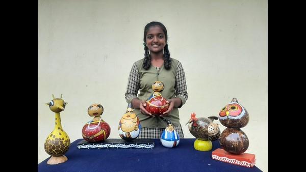 ಚೆಂದದ ಬೊಂಬೆ ತಯಾರಿಸಿ ರಾಷ್ಟ್ರಮಟ್ಟದ ಪ್ರಶಸ್ತಿ ಪಡೆದ ಸರ್ಕಾರಿ ಶಾಲಾ ವಿದ್ಯಾರ್ಥಿನಿ ಚಂದನಾ