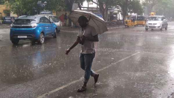 Rainfall Will Occur 16 Districts Of Karnataka In 48 Hours