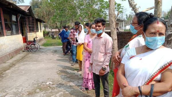 Photos: ಅಸ್ಸಾಂ ವಿಧಾನಸಭೆ ಚುನಾವಣೆ 2021 : ಇಂದು ಮೊದಲ ಹಂತದ ಮತದಾನ