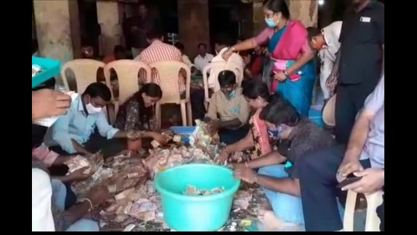 Mysuru : Nanjangud Temple Records Hundi Collection Of Rs. 1.11 Crore In February Month