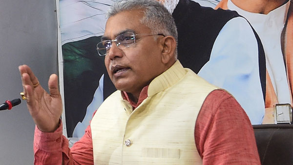 Not Necessary Sitting MLA Will Become CM Says West Bengal BJP President Dilip Ghosh
