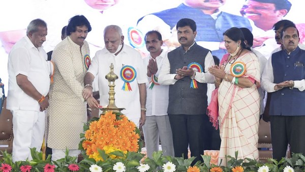 Shivamogga : CM Yediyurappa Launches Rs 150-Cr Muguru Lift Irrigation Project In Soraba