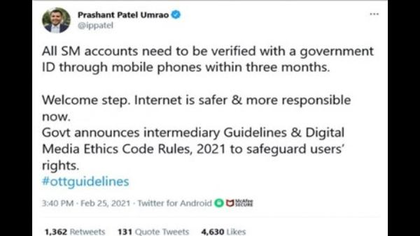 Fact Check:No, It's Not Mandatory For Users To Verify Their Social Media Accounts Within 3 Months