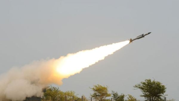 The Indian Army Conducted A Successful Test Of The Akash Missile In Pokhran