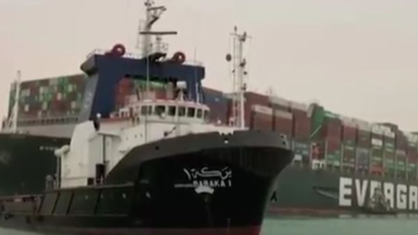 Huge Container Ship Blocking Egypts Suez Canal Costs About $400 Million An Hour