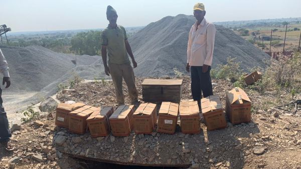 Police Raid On Stone Crusher Illegal Explosives Found