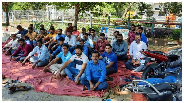 Toyota Kirloskar Workers Protest Enters 132 Days