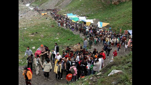 Registration For Amarnath Yatra Temporarily Suspended Due To Corona