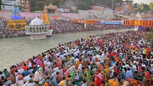 Haridwar Reports 594 New Cases As Thousand Gathered For Kumbh Mela