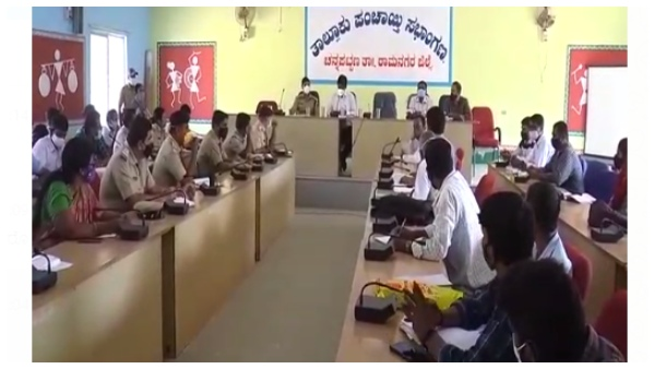 Rs 25 Lakh Released Per Every Taluk In Ramanagara District For Covid-19 Control