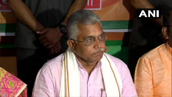 West Bengal: TMC Workers Attacked On His Party Workers, BJP chief Dilip Ghosh Allegation