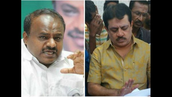 Congress MLA Zameer Ahmed Khan Again Criticized Former CM H D Kumaraswamy