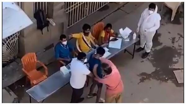 ಕೋವಿಡ್ ರ್ಯಾಂಡಮ್ ಪರೀಕ್ಷೆ ನಿರಾಕರಣೆ: ಬಿಬಿಎಂಪಿ ಅಧಿಕಾರಿಗಳಿಂದ ಯುವಕನಿಗೆ ಥಳಿತ