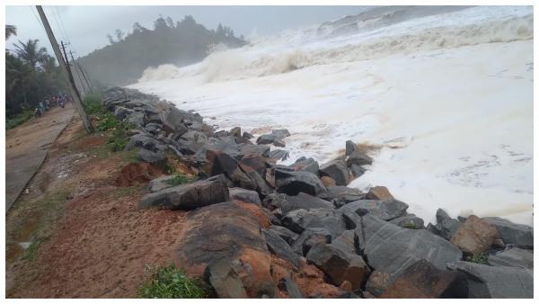 'ತೌಕ್ತೆ' ಅವಾಂತರಕ್ಕೆ ನಡುಗಿದ ಕರಾವಳಿ: ಆತಂಕದಲ್ಲಿ ಉತ್ತರ ಕನ್ನಡ ತೀರದ ವಾಸಿಗಳು