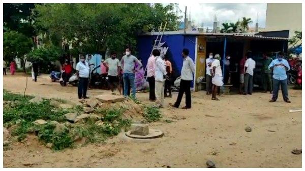 ರಾಮನಗರ: ಮ್ಯಾನ್ಹೋಲ್ ಕ್ಲೀನಿಂಗ್ ವೇಳೆ 3 ಕಾರ್ಮಿಕರು ಸಾವು