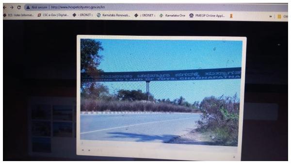 ಅಧಿಕಾರಿಗಳ ಪ್ರಮಾದ: ಹೊಸಪೇಟೆ ನಗರಸಭೆ ವೆಬ್ಸೈಟ್ನಲ್ಲಿ ಚನ್ನಪಟ್ಟಣದ ಚಿತ್ರಗಳು