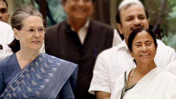 ಕಾಂಗ್ರೆಸ್ ಅಧ್ಯಕ್ಷೆ ಸೋನಿಯಾರನ್ನು ಭೇಟಿ ಮಾಡಲಿದ್ದಾರೆ ಮಮತಾ ಬ್ಯಾನರ್ಜಿ