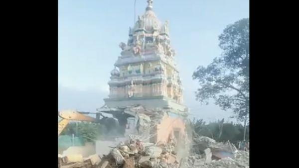 ಮೈಸೂರಿನ 93 ದೇವಾಲಯ ತೆರವು ಕಾರ್ಯಾಚರಣೆಗೆ ತಾತ್ಕಾಲಿಕ ಬ್ರೇಕ್