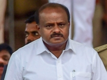 Cm Kumaraswamy Met Central Ministers Along With Deve Gowda