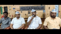 Aap Holds Dialogue With Bbmp Candidate Aspirants